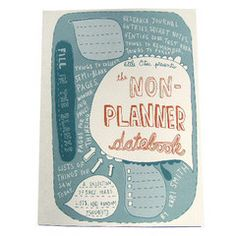For us who struggle to maintain and upkeep a standard planner for more than a month.. :p