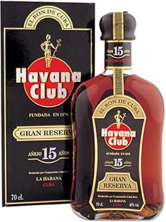 Havana Club Rum 15 Year Old : Buy Online - The Whisky Exchange - Getting very hard to find due to the lack of aged stock at the distillery itself, this is a masterpiece of Cuban rum-making. Simply awesome. £133 a Bottle and a tenner a glass
