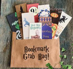 Harry Potter Themed Random Bookmark Grab Bag   by MirkwoodScribes