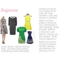 """ingenue dresses"" by expressingyourtruth on Polyvore"