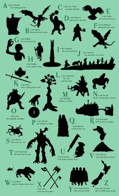 Lord of the rings ABC ^^