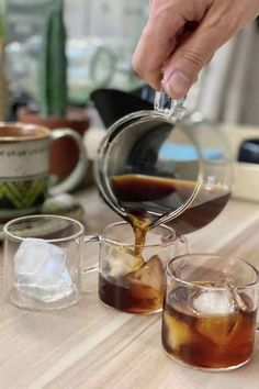 #coffee #coldbrew Cold Brew, Alcoholic Drinks, Wine, Coffee, Kaffee, Liquor Drinks, Cup Of Coffee, Alcoholic Beverages, Cold Brewed Coffee