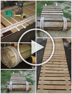 In this DIY tutorial, we will show you how to make Christmas decorations for your home. The video consists of 23 Christmas craft ideas. Diy Crafts To Sell, Home Crafts, Diy Home Decor, Diy Pallet Projects, Garden Projects, Pallet Wood, Wood Pallets, Garden Paths, Garden Landscaping