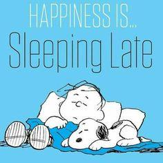 yup...sleeping late, sleeping early, and sleeping often