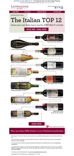 12 wine proposition