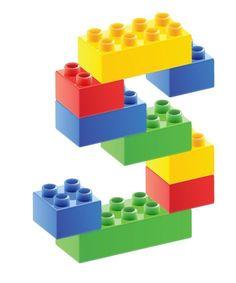 letters met lego nahouden