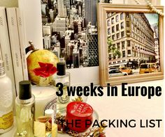 Three Weeks in Europe - The Packing List — Portland | Grace