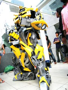 transformers bumblebee cosplay