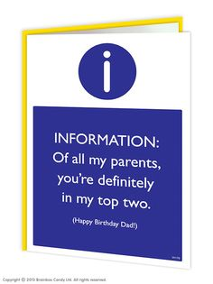 11 best mum dad birthday cards images on pinterest dads father top two parents dad birthday card m4hsunfo