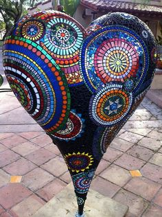 Mosaic/ Stained glass Heart