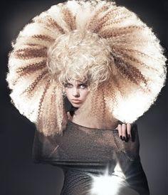 Wow! Avant garde hair