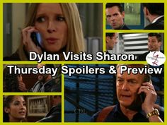 The Young and the Restless Spoilers: Dylan Visits Sharon on the Run From Thugs - Paul Relieved Son's Alive | Celeb Dirty Laundry