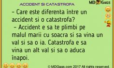 Accident si catastrofa [Bancuri]