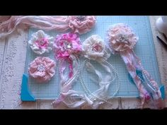 DIY - Shabby Chic Ruffle Flowers Tutorial, My Crafts and DIY Projects