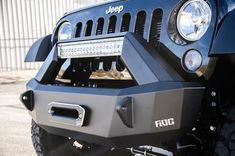 Premium, American Made bumpers for trucks and Jeeps. Creators of the original LightGuard LED Light-integrated bumpers. Jeep Wrangler Wheels, 2015 Jeep Wrangler, Jeep Jk, Jeep Truck, Jeep Wrangler Unlimited, Accessoires Jeep, Jeep Bumpers, Jeep Wrangler Accessories, Jeep Mods