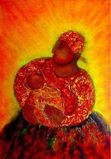 """ in the arms of the world "" (disponível)  Acrílico sobre tela pvc 68 x 98 Autor. @gumartes"