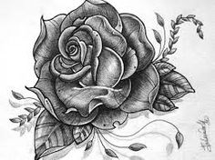 Rose Drawing The best tattoos for women: 6 spectacular ideas Latest Tattoos, Trendy Tattoos, Black Tattoos, Body Art Tattoos, Sleeve Tattoos, Tattoo Arm, Tatoo Rose, Rose Drawing Tattoo, Single Rose Tattoos