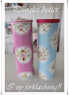 reciclagem de latas de babatas - Magic with Pringles cans