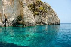 See the blue waters at the Blue caves, Zakynthos Island Greece Oh The Places You'll Go, Places To Travel, Places To Visit, Dream Vacations, Vacation Spots, Dream Trips, Vacation Destinations, Angkor Wat, Adventure Is Out There