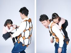 The AthleTitti is a special vest designed by Atsushi Shiraishi at Tama Art University that turns parents into playground equipment that children or small adults could easily climb on. The vest is m. Gifts For Millennials, Indoor Jungle Gym, Gym Vests, Kids Gym, Baby Gym, Filets, Toddler Gifts, Cool Toys, Kids Playing