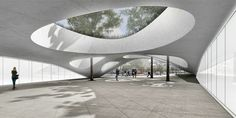 atelier king kong to build concrete canopy over vitry center metro station in france