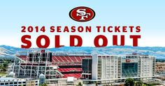 Brand new, Levi's Stadium, Santa Clara CA Forty Niners, Game Tickets, Season Ticket, Santa Clara, Top Destinations, Seasons, 4 Life, Sports, Passion