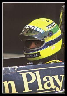 Ayrton Senna, 1985: