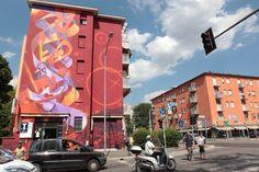 Le maxiopere dei writer celebri ridisegnano le periferie di Bologna