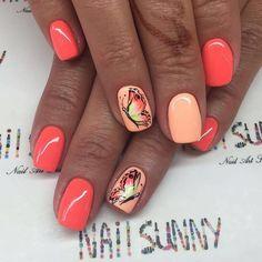 Ногти дизайн 2016 фото | ВКонтакте Shellac Nails, Gold Nails, Lemon Nails, Minion Nails, Summer Gel Nails, Cute Nail Art Designs, Modern Nails, Butterfly Nail, Rhinestone Nails