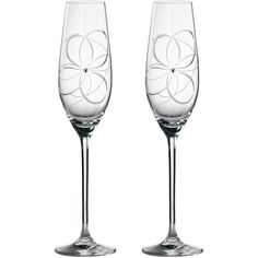 Royal Doulton Toasting flutes many happy returns, set of 2 (645 ZAR) ❤ liked on Polyvore featuring home, kitchen & dining, drinkware, clearance and royal doulton