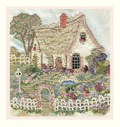 olderrose: Lace Cottage Tutorial