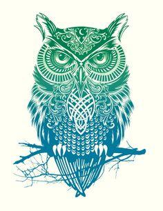 owl illustration - Iskanje Google