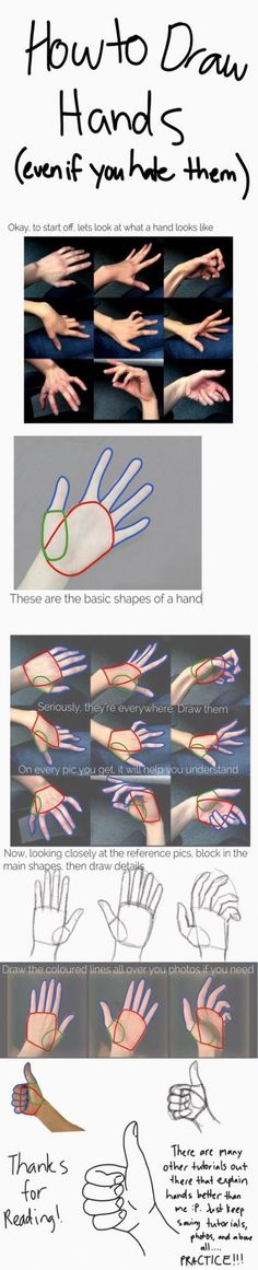 A messy hand tutorial. Seriously guys, I can't stress how much you need to j… A messy hand tutorial. Seriously guys, I can't stress how much you need to just keep drawing and practicing. Also look at heaps of tutorials,… Continue reading → Drawing Practice, Drawing Lessons, Drawing Poses, Drawing Techniques, Drawing Tips, Drawing Sketches, Art Drawings, Sketching, Figure Drawing