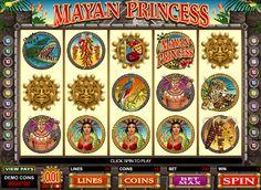 Mayan Princess - http://casinospiele-online.com/kostenlose-spielautomat-mayan-princess-online/