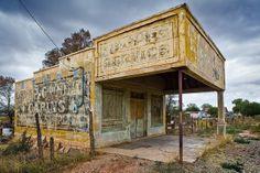 Abandoned Store near Kanab, Utah by Christian Waeber, via Flickr - ☮k☮