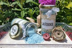 Homemade/Handmade Natural Bath Salts Gift for by SensibleSoapWorks