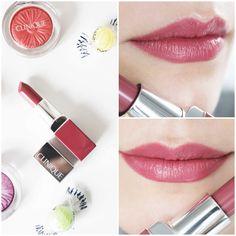 Clinique Pop Lipstick in 14 Plum Pop — LilacChocolate