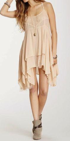Blush dress | Gloss Fashionista