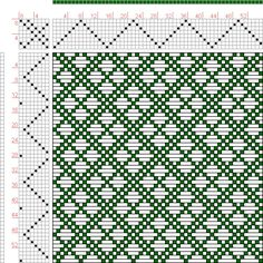 Hand Weaving Draft: Page 126, Figure 16, Donat, Franz Large Book of Textile Patterns, 8S, 8T - Handweaving.net Hand Weaving and Draft Archive