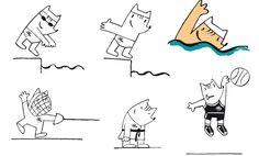 Estudio Mariscal | cobi Olympic Mascots, Olympic Games, Barcelona, Olympics, Fictional Characters, Life, Ideas, Style, Studio Apartment Design