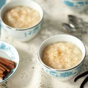 Rice Pudding with Golden Raisins, Recipe from Cooking.com