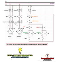 Single-Phase Motor Control Wiring Diagram - Electrical Engineering ...