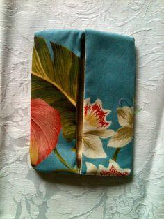 Hawaiian Aloha Fabric Tissue Holder. $3.00, via Etsy.
