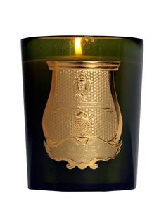 Cire Trudon Bartoleme candle. It smells like cedar and amber.