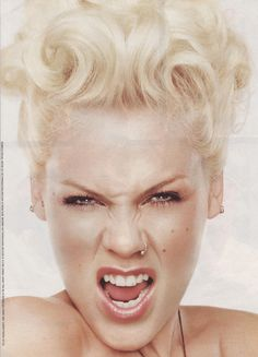 Pink showing off her DecoDent Tooth BLING* NO drilling