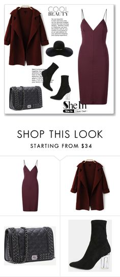 """""""SheIn 4/IV"""" by hedija-okanovic ❤ liked on Polyvore featuring T By Alexander Wang, Eugenia Kim and shein"""