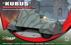 KUBUŚ w 1/72 już u nas w sprzedaży: http://polish-made.com/pl/p/KUBUS-sam.pancerny-172/2619