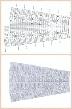 """Crochet diagram pattern to use to make a skirt. Could be used to make the dress portion for a American Girl 18"""" Doll. Just use another crochet yoke pattern or add it to a wide stretchy headband."""