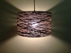 Shop for on Etsy, the place to express your creativity through the buying and selling of handmade and vintage goods. Rustic Lighting, Chandelier Lighting, Bankers Chair, Rustic Lamp Shades, Lace Doilies, Vintage Lamps, Twine, Lanterns, Ceiling Lights