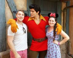 Well, we all know who Gaston likes.